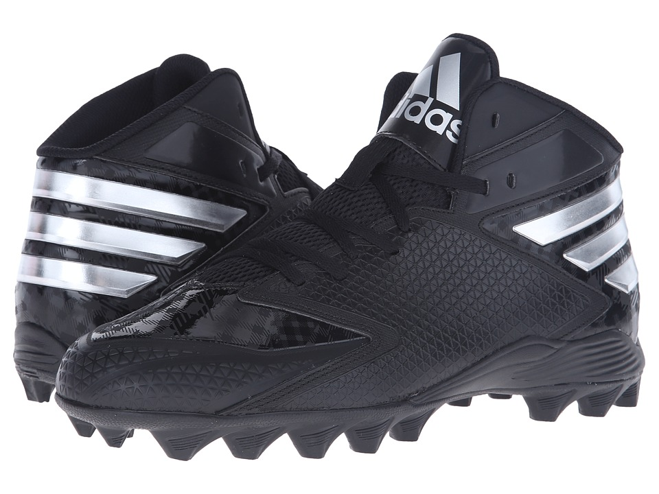 adidas Filthyquick 3.0 Mid Football (Black/Platinum/Platinum) Men