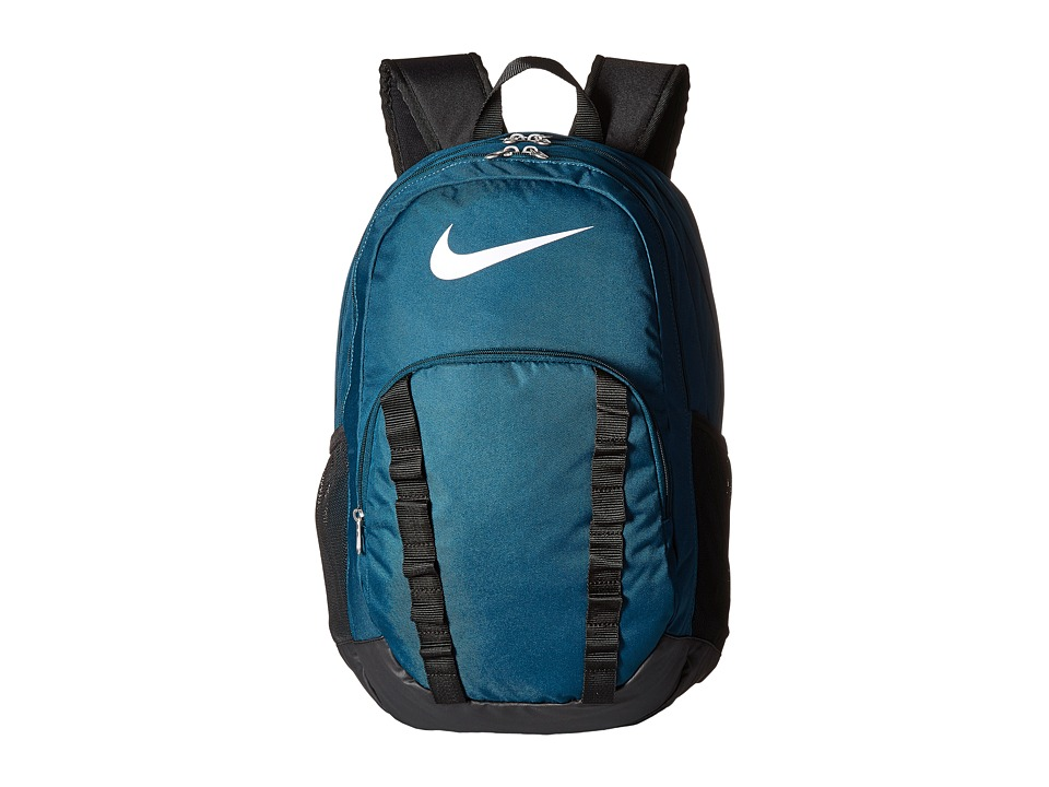 Nike - Brasilia 7 Backpack XL (Midnight Turquoise/Black/White) Backpack Bags