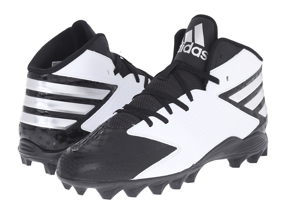 adidas - Filthyquick 3.0 Mid Football (Black/Platinum/White) Men