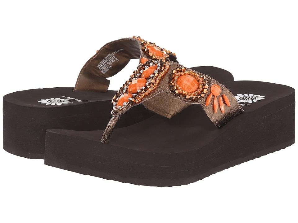 Yellow Box Cherilyn Coral Womens Sandals