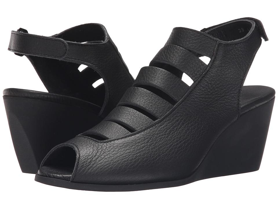 Arche - Egzy (Noir) Womens Wedge Shoes