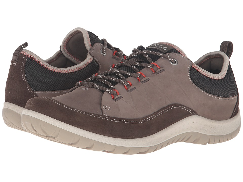 Ecco Sport Aspina Low Womens Dark Clay/Warm Grey T530333UK Shoes