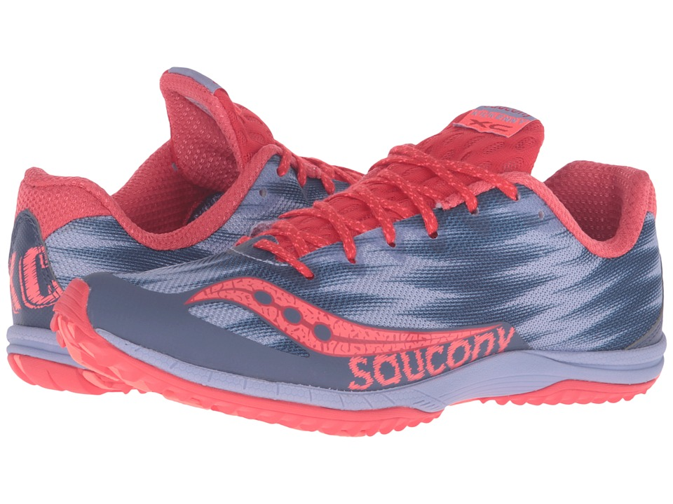 Saucony Kilkenny XC Flat (Lavender/Red) Women's Shoes