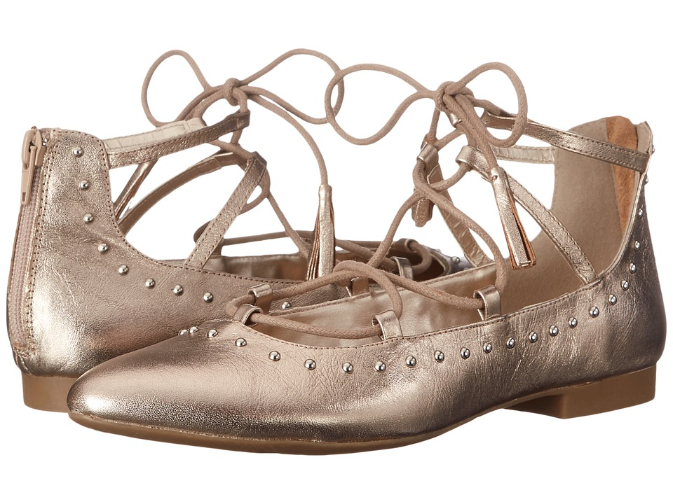 Bella Vita Ollie Champagne Womens Flat Shoes