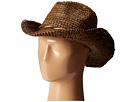 Roxy Seashore Raffia Hat (Walnut)