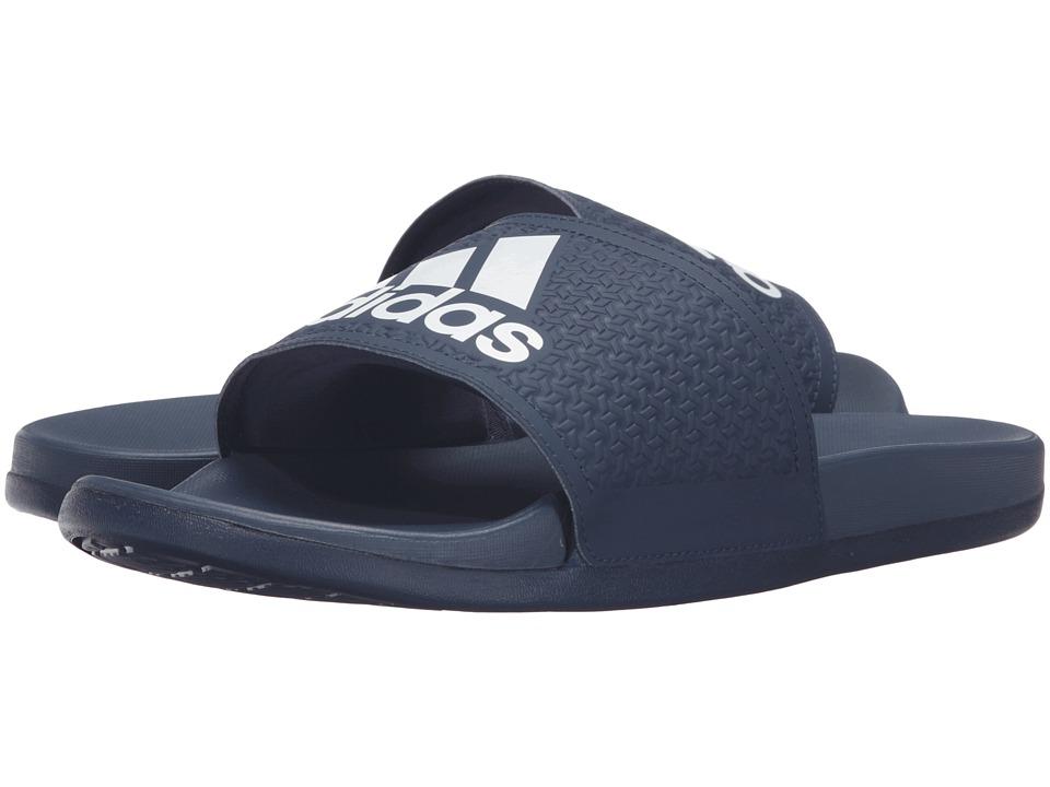 adidas Adilette Supercloud Plus (Collegiate Navy/White) Men