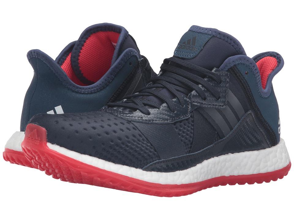 adidas - Pureboost ZG Trainer (Navy/White/Vivid Red) Men