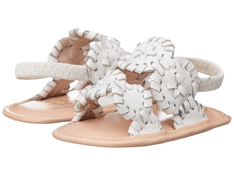 Jack Rogers Baby Lauren Infant White Womens Sandals