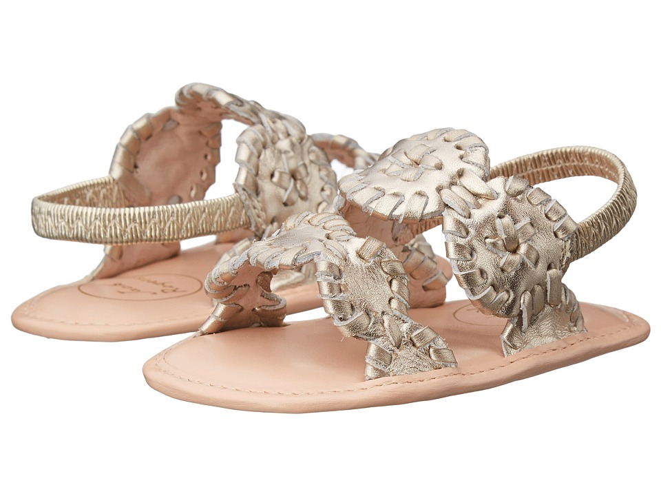 Jack Rogers Baby Lauren Infant Platinum Womens Sandals