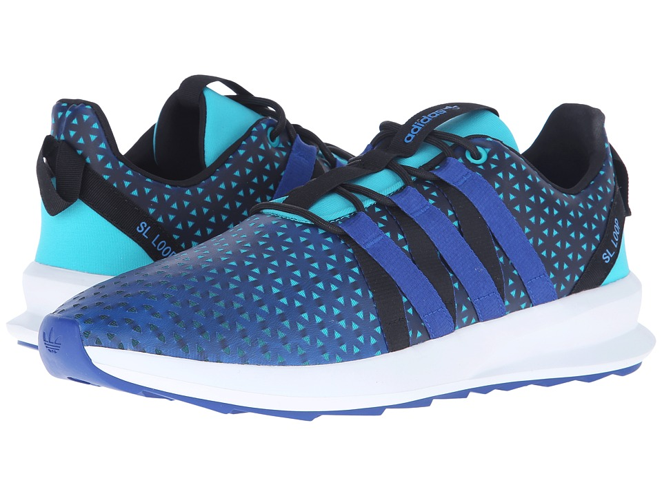 adidas Originals - SL Loop CT (Shock Green/Collegiate Royal/Crystal White) Men