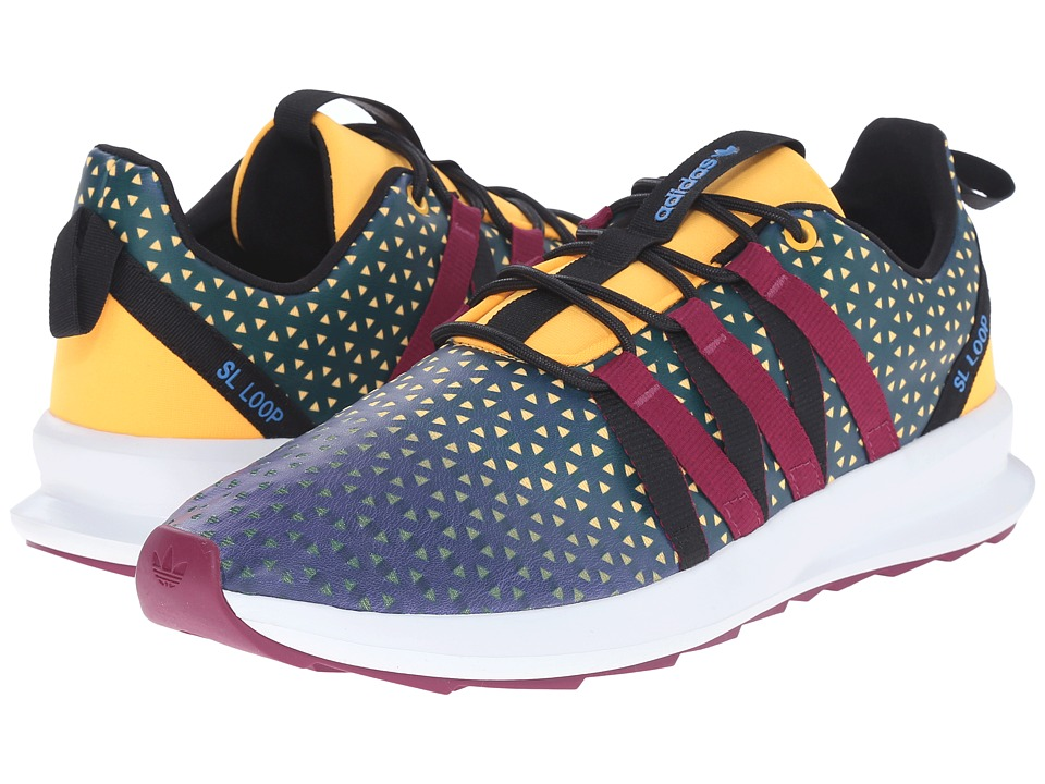 adidas Originals - SL Loop CT (Shadow Blue/Magenta/Crystal White) Men