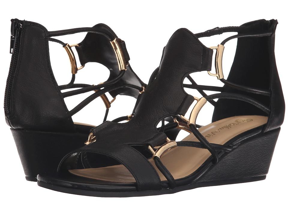 Bella Vita Isla Black Womens Sandals