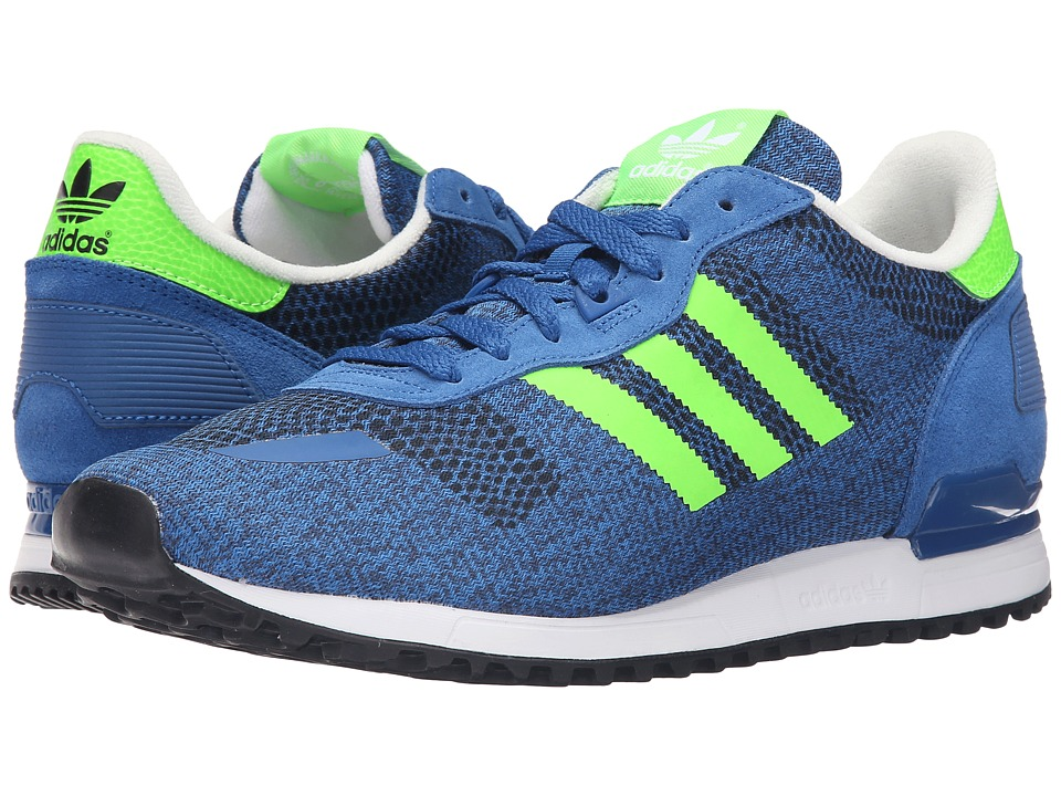 adidas Originals - ZX 700 IM (EQT Blue/Solar Green/Off-White) Men