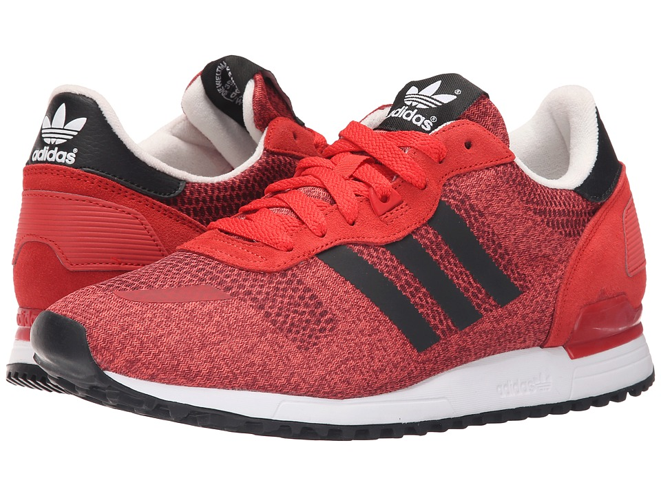 adidas Originals - ZX 700 IM (Lush Red/Black/Off-White) Men