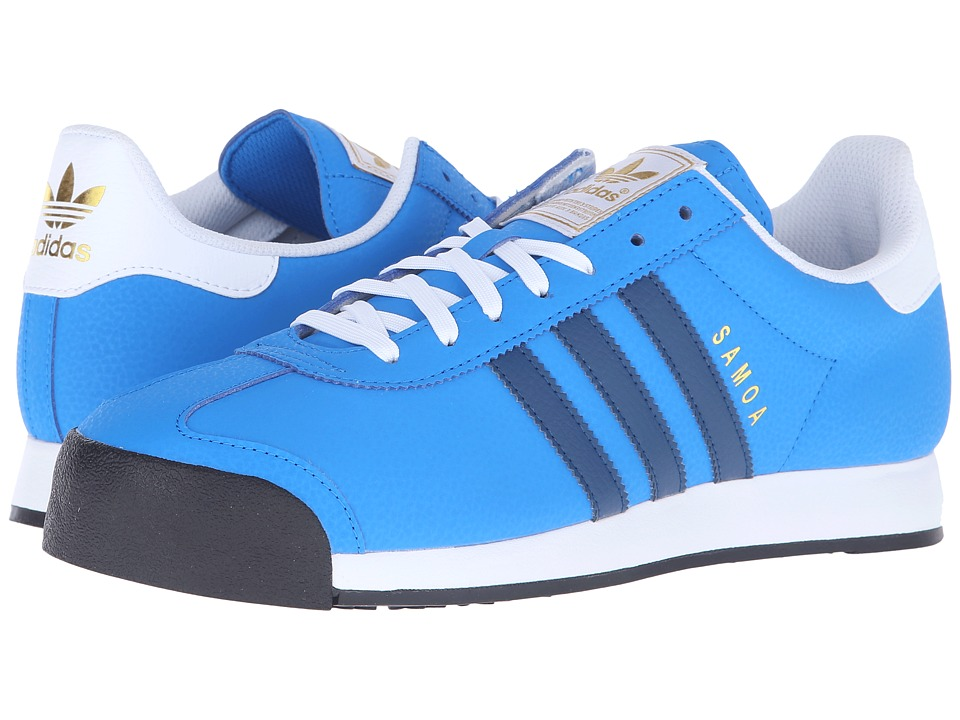 adidas Originals - Samoa (Shock Blue/Shadow Blue/Gold Metallic) Men