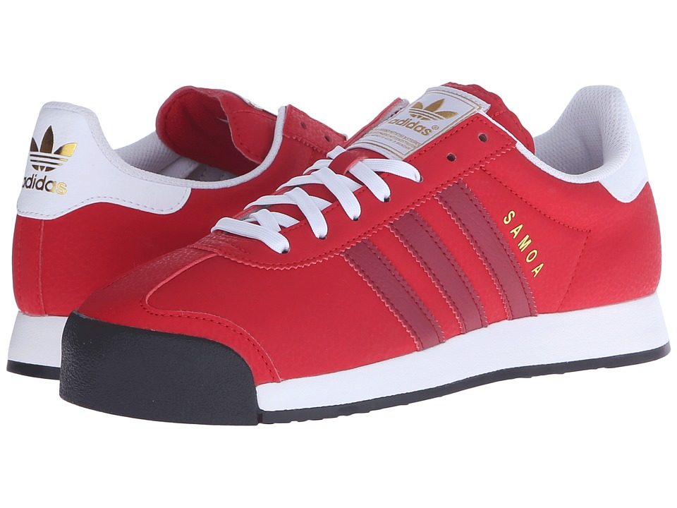 adidas Originals - Samoa (Scarlet/Collegiate Burgundy/Gold Metallic) Men