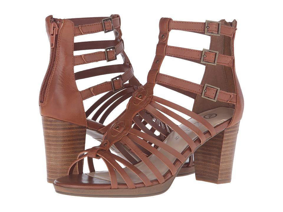 Bella Vita Layne Dark Tan Womens 1 2 inch heel Shoes