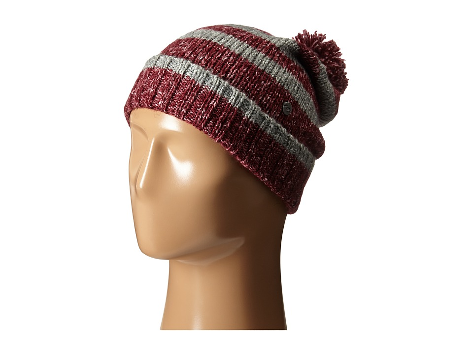 Roxy Below Zero Knit Beanie Burgundy Beanies