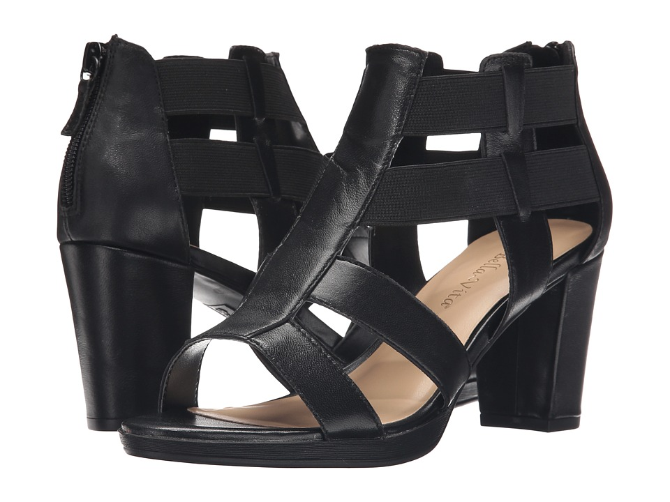 Bella Vita Lincoln Black Womens 1 2 inch heel Shoes