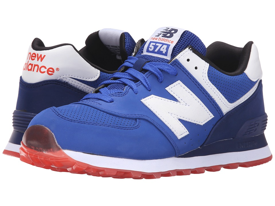New Balance Classics ML574 (Blue/Red 2) Men
