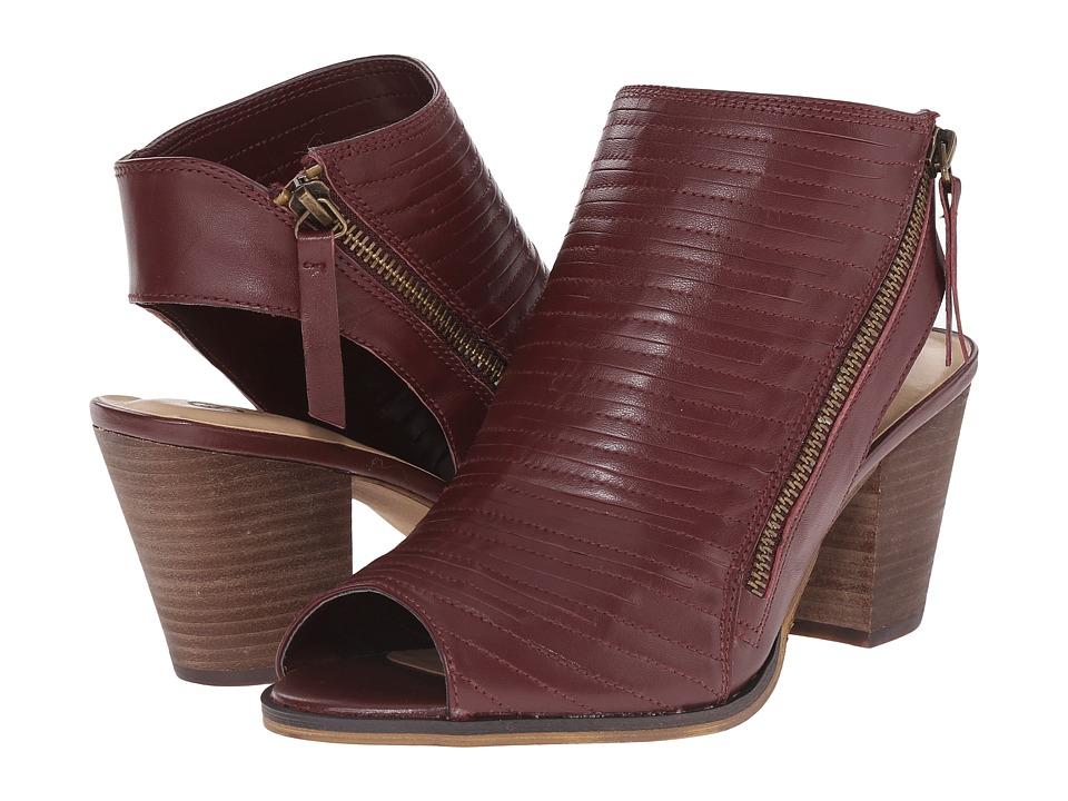 Bella Vita Kalista Burgundy Womens 1 2 inch heel Shoes