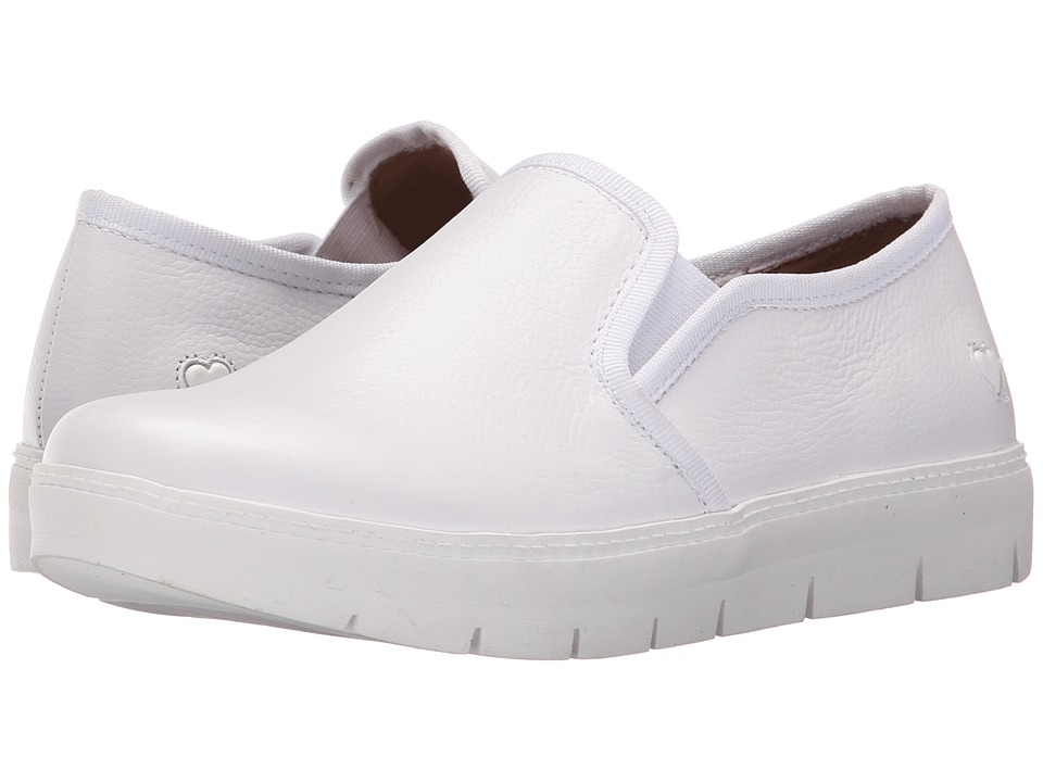 Nurse Mates - Adela (White) Womens Slip on  Shoes