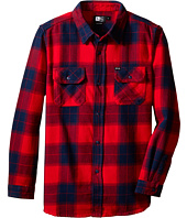 Rip Curl Kids - Ruggles Long Sleeve Flannel (Big Kids)