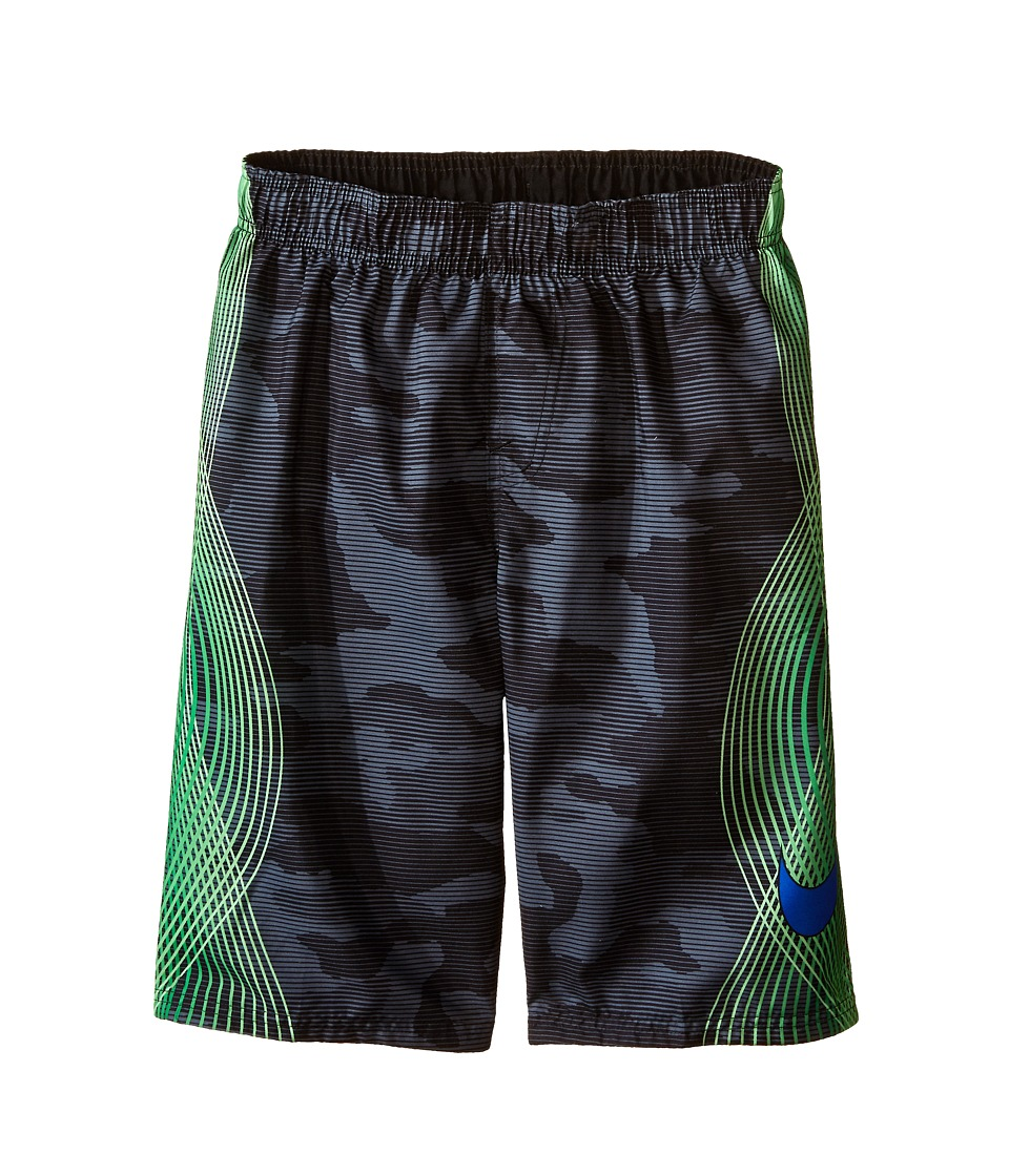 Nike Kids Camotion Volley Shorts Big Kids Black Boys Workout