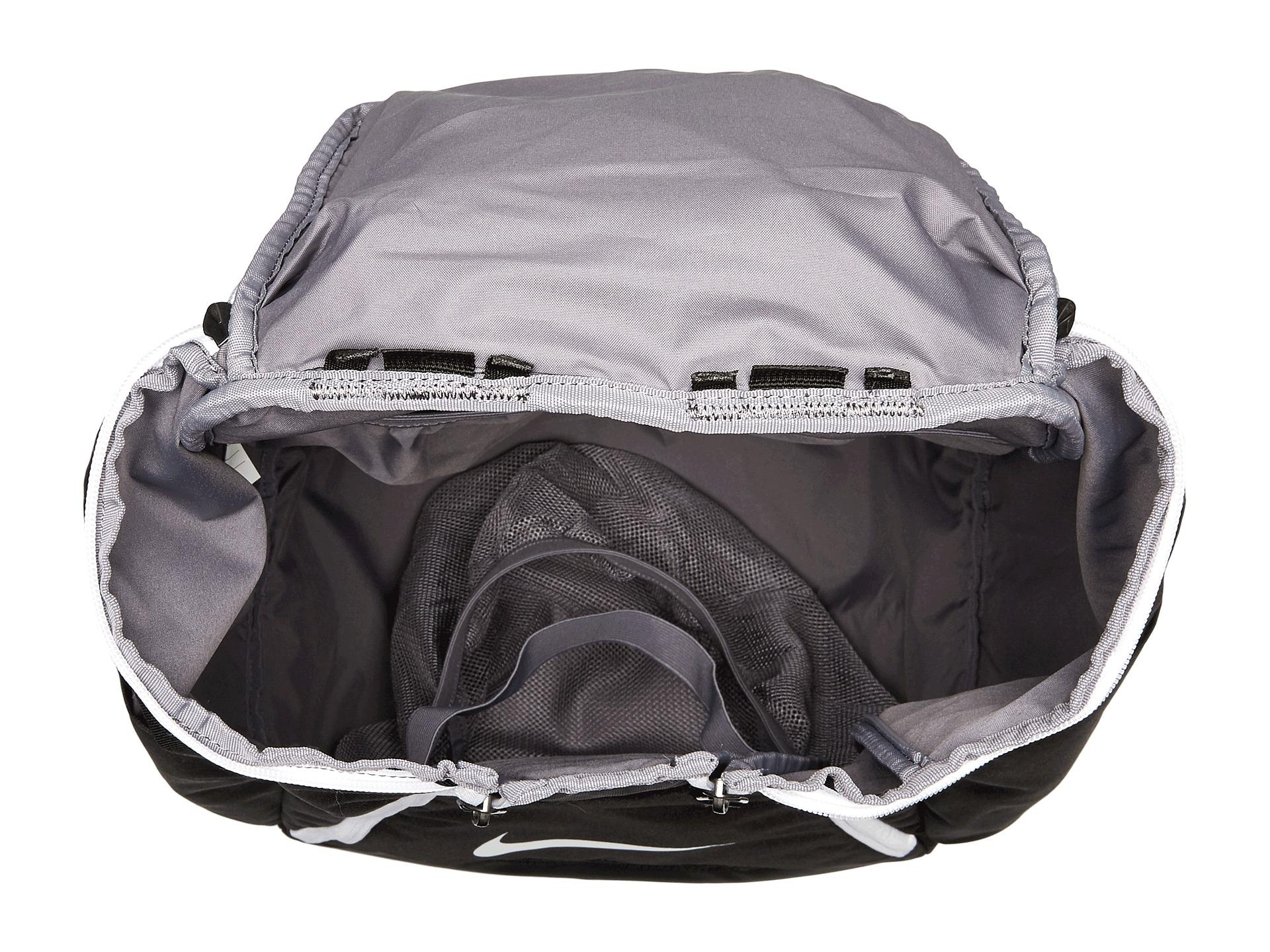 nike air max team bookbag inside