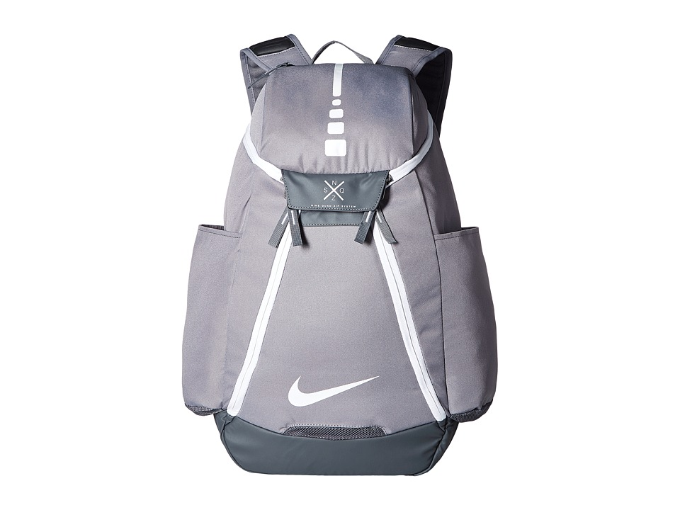 Nike Hoops Elite Max Air Team Backpack (Charcoal/Dark Gre...