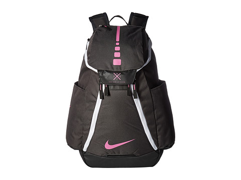 Nike Hoops Elite Max Air Team Backpack - Anthracite/Black/Pink Fire
