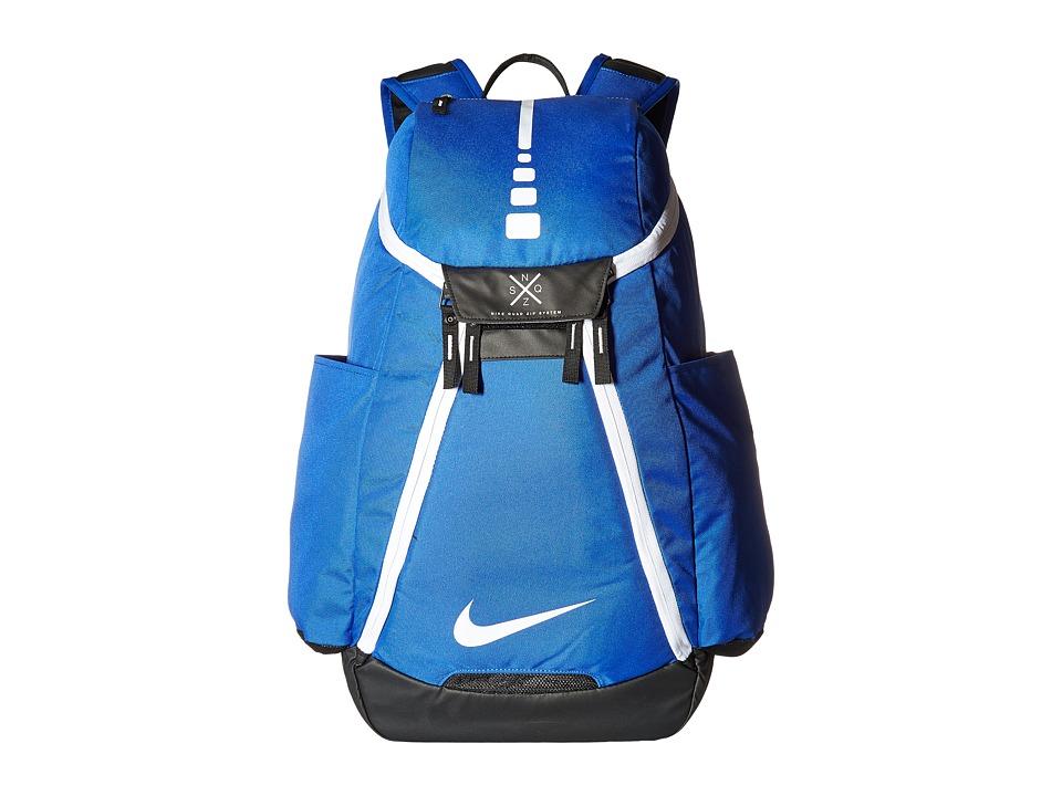 Nike - Hoops Elite Max Air Team Backpack (Game Royal/Black/White) Backpack Bags