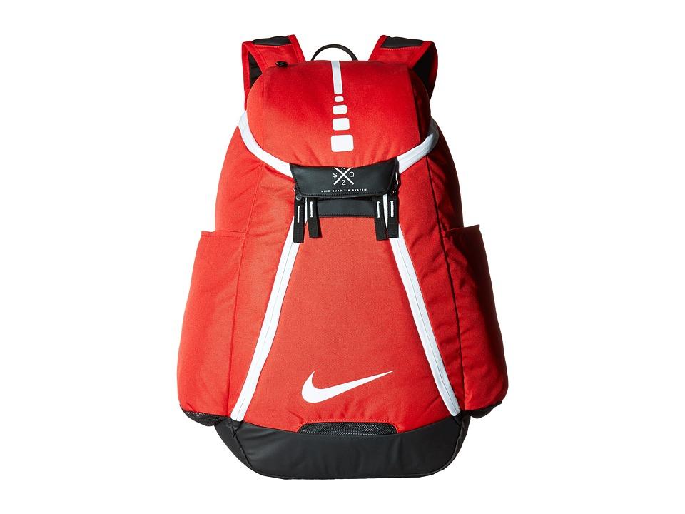 Nike - Hoops Elite Max Air Team Backpack (University Red/Black/White) Backpack Bags