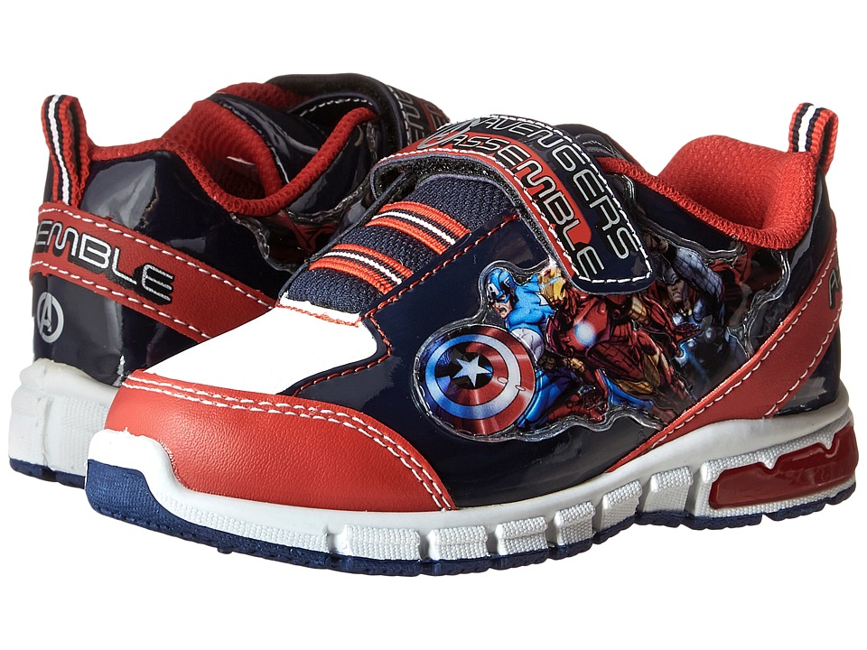 Favorite Characters Avengers Sneaker Lighted Toddler/Little Kid Red/White/Royal Boys Shoes