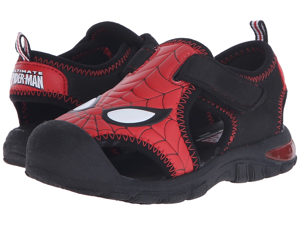 Favorite Characters - Spider-Man Active Shoe (Toddler) (Red/Black) Boys Shoes