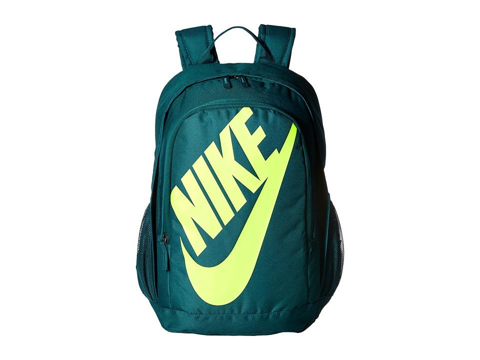 Nike - Hayward Futura 2.0 (Midnight Turquoise/Midnight Turquoise/Volt) Backpack Bags