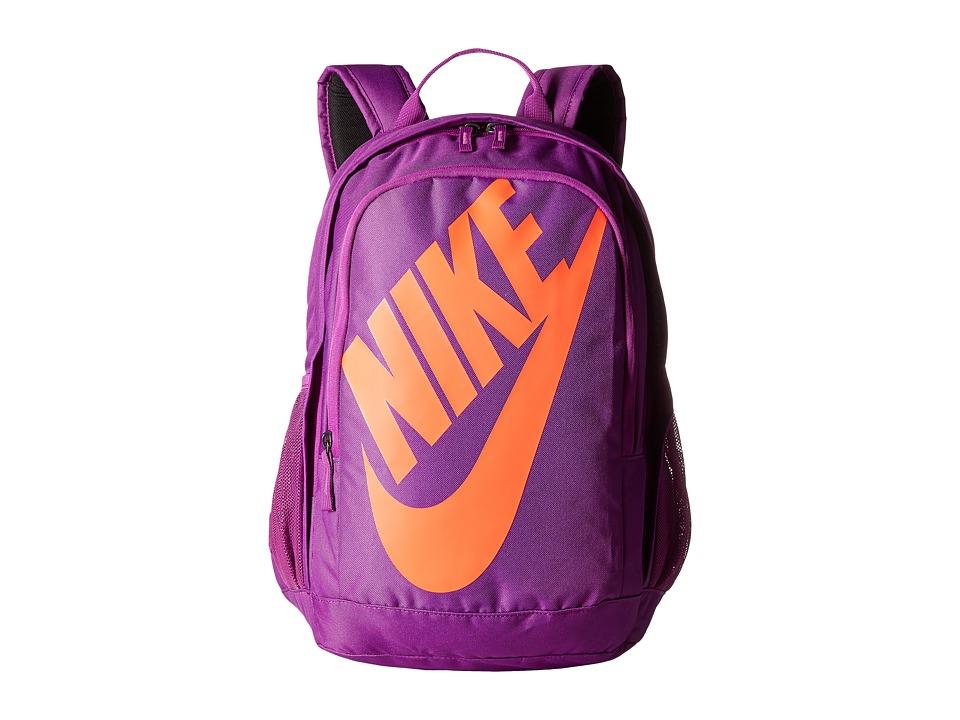 Nike - Hayward Futura 2.0 (Cosmic Purple/Cosmic Purple/Bright Crimson) Backpack Bags