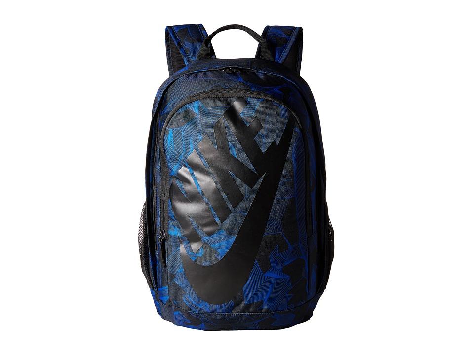 Nike - Hayward Futura 2.0 - Print (Game Royal/Black/Black) Backpack Bags