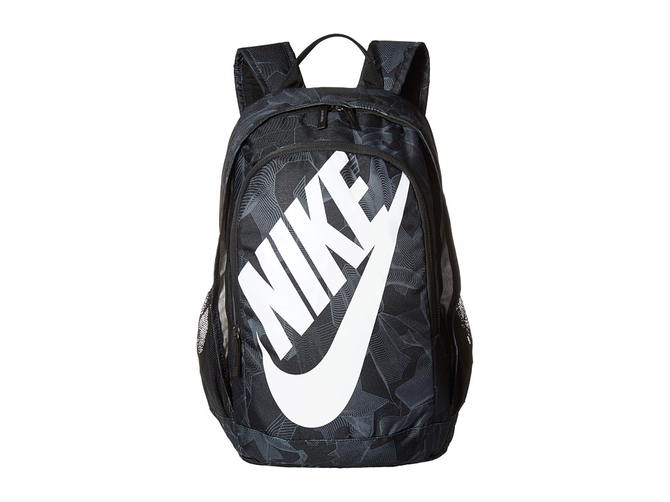 Nike - Hayward Futura 2.0 - Print (Black/Black/White) Backpack Bags