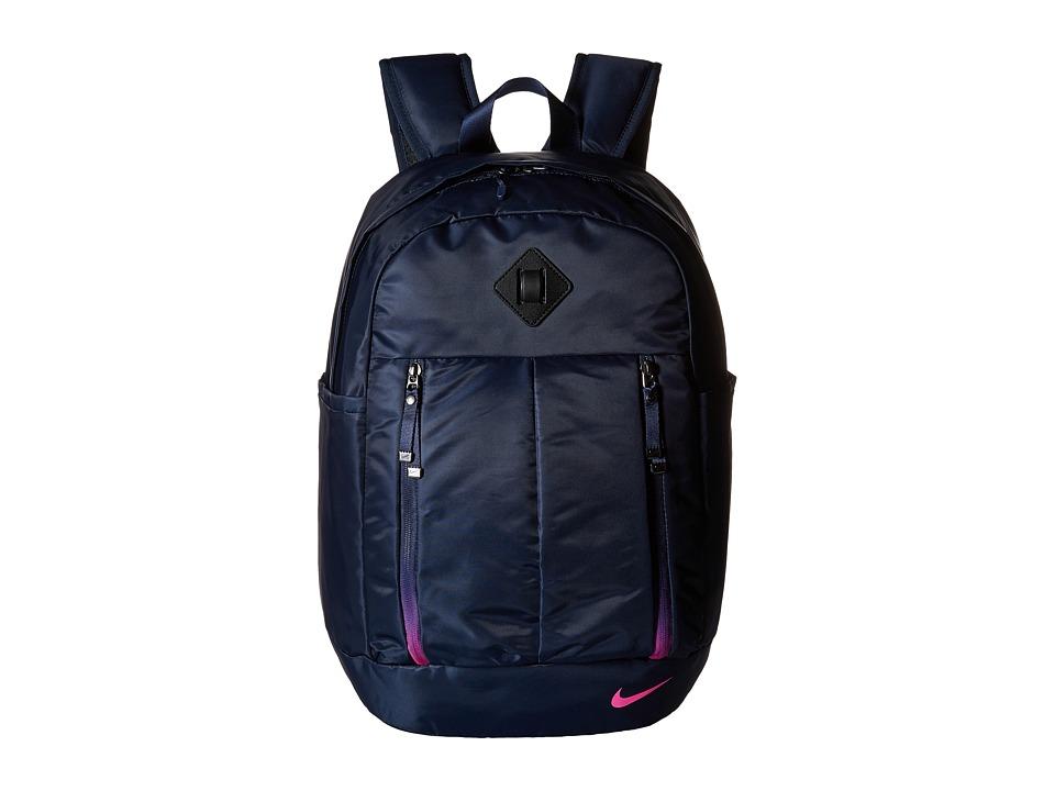Nike - Auralux Backpack (Obsidian/Black/Hyper Pink) Backpack Bags