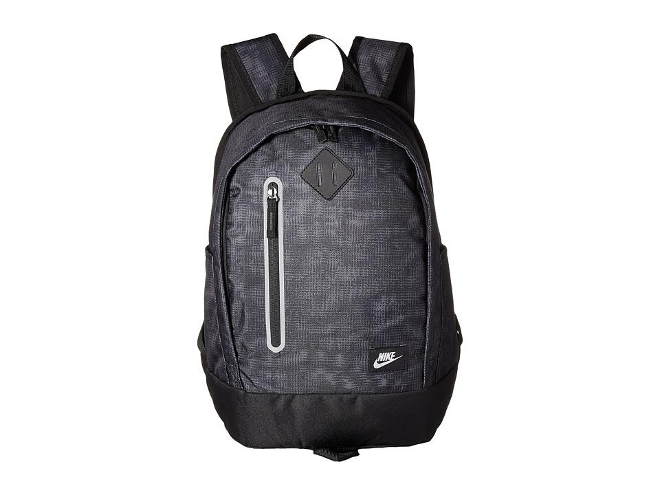 Nike - Young Athletes Cheyenne Print Backpack (Black/Black/Rio Teal) Backpack Bags