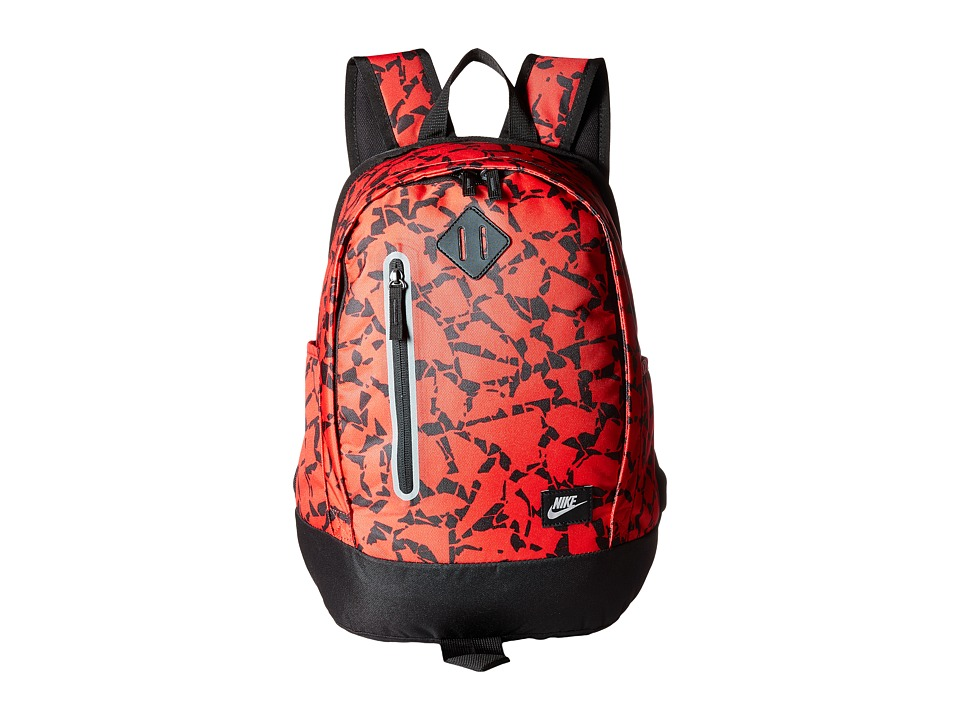 Nike - Young Athletes Cheyenne Print Backpack (University Red/Black/Metallic Silver) Backpack Bags