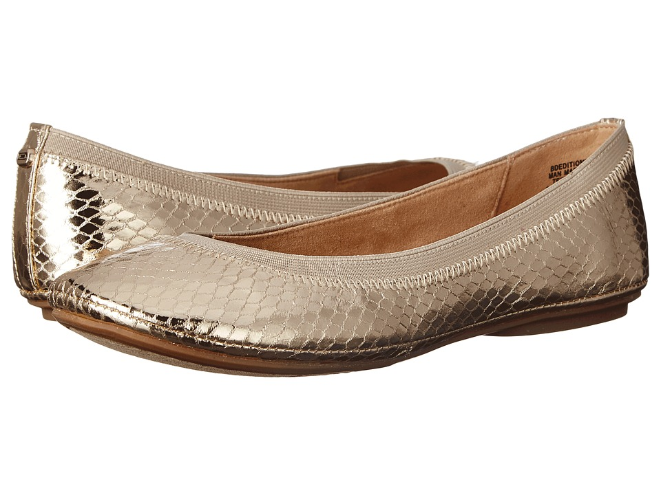 Bandolino Edition Gold Multi Synthetic Womens Flat Shoes