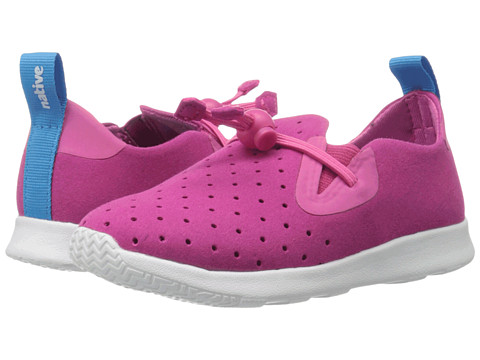 Native Kids Shoes Apollo Moc (Toddler/Little Kid) - Hollywood Pink/Shell White