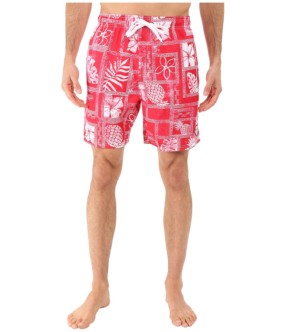 Body Glove Kihei Volleys Boardshorts Infrared Mens Swimwear