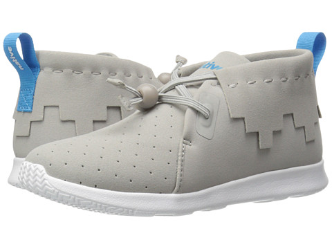 Native Kids Shoes Apollo Mid (Little Kid) - Pigeon Grey/Pigeon Grey/Shell White
