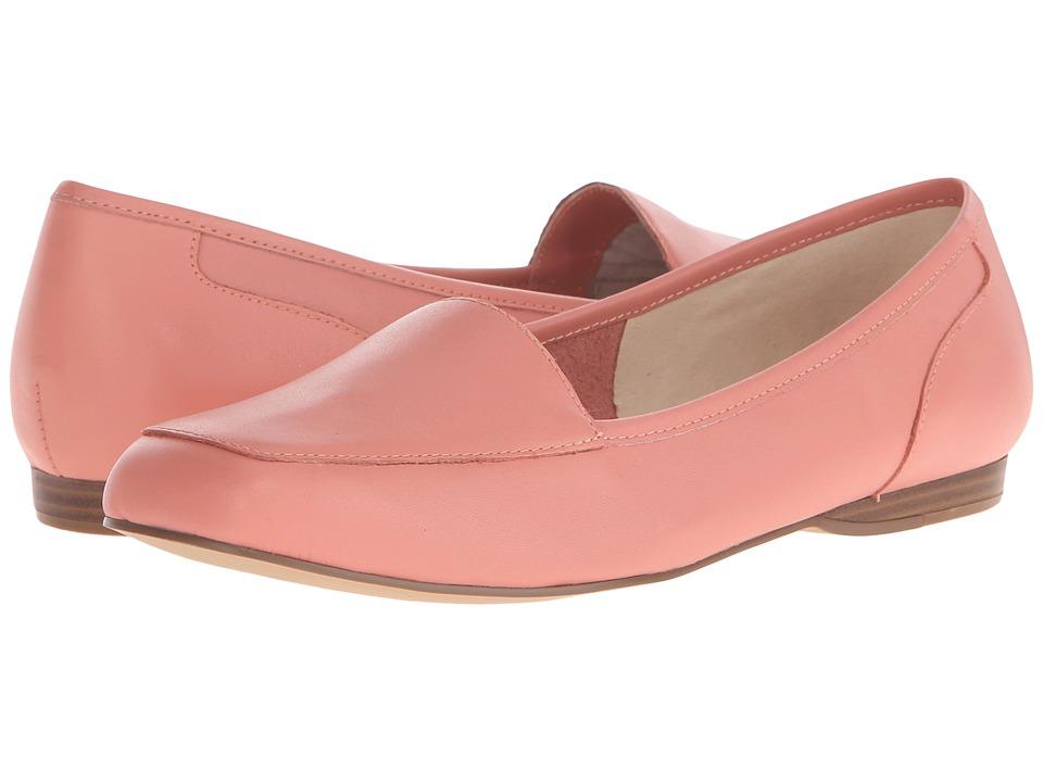 Bandolino Liberty Fresh Coral Leather Womens Slip on Shoes
