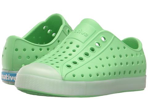 Native Kids Shoes Jefferson (Toddler/Little Kid) - Mescal Green/Glow Rand