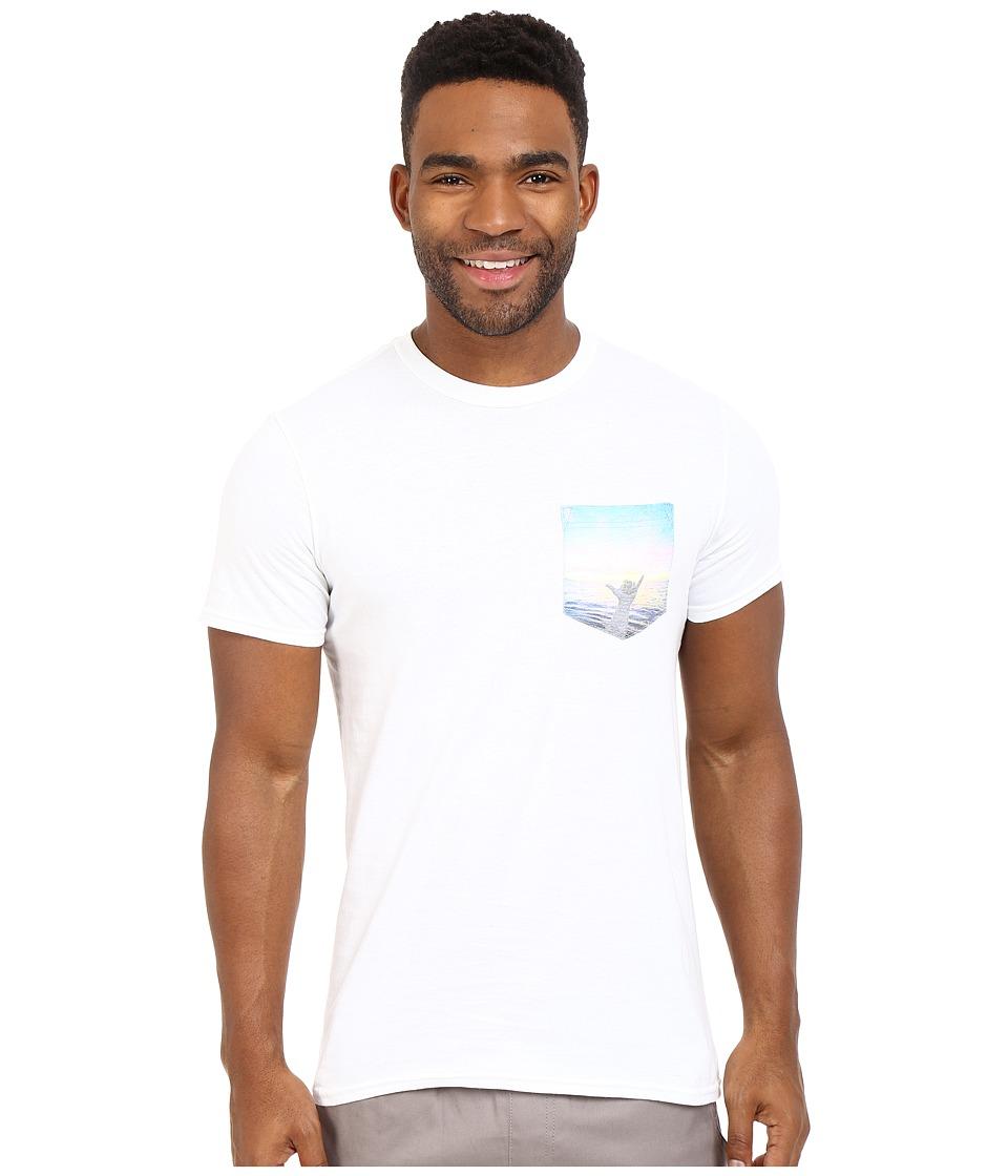 Body Glove 47151 Howzit Tee White Mens T Shirt