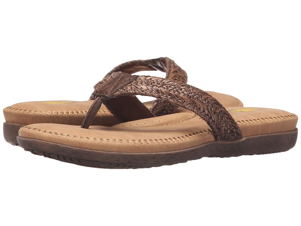 VOLATILE Avalonie Brown Womens Sandals